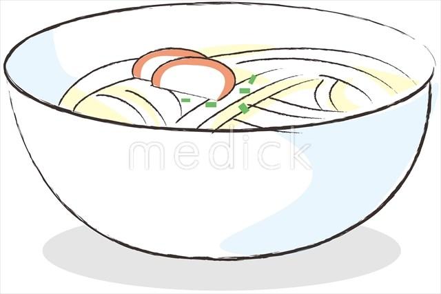 料理 うどんのイラスト 医療のイラスト写真動画素材販売サイトの