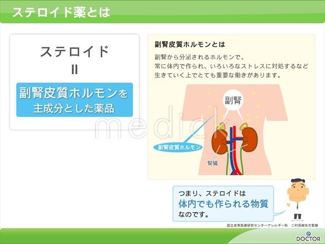 ステロイド薬とはの説明スライド - 医療のイラスト・写真 ...
