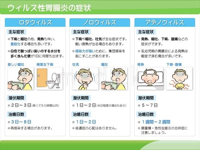 ウィルス 性 腸炎